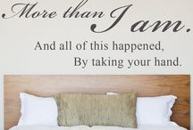 For my wonderful husband I love you  / My thinking about my hubby