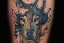 Tatoo Husky / Best husky  tattoos