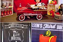 Fire engine party / by Mary Said Daryabigi