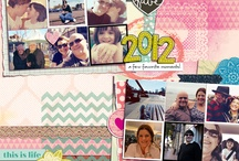 Scrapbook layout ideas - A year in review