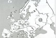 europa terkép
