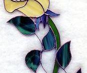 Flores de vidrio