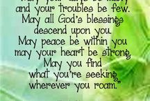My Irish blessings