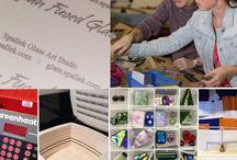 SGA: Behind the Scenes at Spallek Glass Art Studio / Take a peek in the kiln or studio!