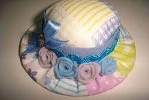 Chapéu para bonecas