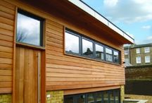 Timber construction and cladding by DfM designers / Check out their full profile to see their work!