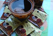 Pure black coffee with Ganoderma medicinal mushroom: DXN Lingzhi Black Coffee / No sugar just the highest quality Arabica coffee from Brazil (where DXN has its own coffee plantation) and the purest 100% organic Ganoderma medicinal mushroom extract.  Why is it good for me? Because I can drink it on empty stomach in the morning without heartburn and stomach acid. Ganoderma is alkaline herb with a whole lot of health benefits including anit- tumor effect.  More: http://www.dxncoffeemagic.com/ganoderma