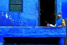 Bleu couleur sublime