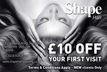 Shape Hairdressing / 30 year hair fashion celebration. Shape Hairdressing is the salon you are looking for. Book an appointment now!
