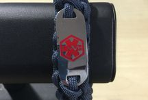 Paracord in Melbourne / I make and sell Survival bracelets and other products made from parachute cord.   www.milspec550.com.au