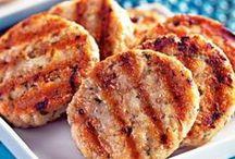 hamburguer de frango