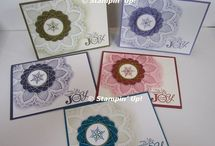 Stampin Up Hello Doily