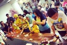 Final Dekorasi Cupcake di Hero Mal Taman Anggrek - 15 Juni 2013
