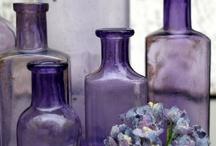 Amethyst Glass.