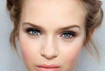 Pale skin make up