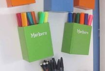 Fantastic and creative classroom concepts for organization