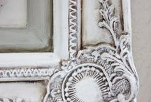 Painted MIRRORS and FRAMES