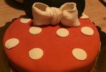 Cake / #minnie #birthday #cake