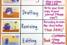 Writing Process Charts / by Katrina Benson