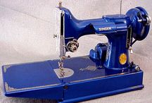 Blue Typewriters & Sewing Machines & Accessories