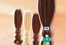 We are #allears / Our solid chocolate bunny, Ears, is hopping around the Harry & David campus this #Easter. Follow his adventures here on Pinterest and on Instagram #allears / by Harry & David