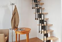 Stairs for small room idea