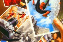 Comicbooks Marvel universe / by Alexander Bradburn