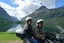Viagens de mota