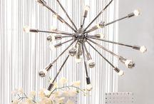 light fixtures galore! / by Pam Davis