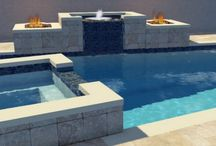 3D Designs / Custom 3D designed pools and spas with fire and water features 3D interiors for kitchens and interior remodels