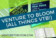 Venture to Bloom / Web design, entrepreneurship, and online business strategies featured on venturetobloom.com (original content). Elevate your impact & improve your brand's online presence.