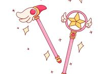 Magical weapons