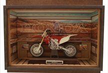Moto HONDA 450 R