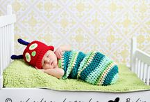 crochet - photographic props