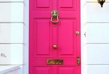 Front Door / Some inspiration for the front entrance.