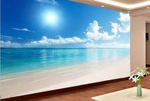 Beach murals