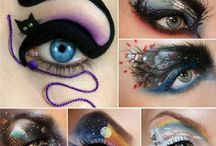 That make up / Gonna try that one day <3
