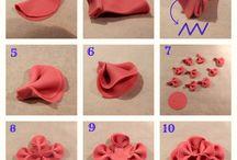 fold ruffle fondant