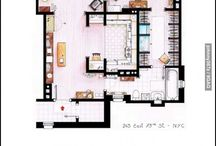 design_layout floor / key plan