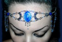 Miss Peculiar / Jewelry and crafts associated with Gothic, Dark, Pin Up, Lolita, Steampunk, Macabre, Grotesque, Pagan, Wicca, Metaphysical, Magic, Symbols and Crystals