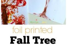 Fall art and crafts
