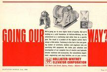 Vintage Elevator Ads / 0