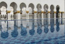 Sheikh Zayed bin Sultan al-Nahyan Grand Mosque, Abu Dhabi / The inlay work completed by Saray Design artisans at this presitgious Mosque.