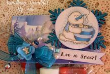Stamp Fairy Cards by Julie Gleeson