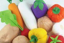 Spielküche Lebensmittel