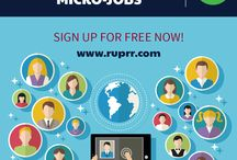 Micro Jobs / Ruprr.com offers you myriad jobs to take up along with your full-term employment. If you want to take up freelancing solely to utilize your talent and skills, and shine in the market; we offer you a broad array of categories to choose from. These 'micro-jobs' are availed by buyers to have their service requirements addressed at reasonable rates.