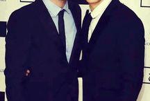 Stefan and Damon