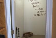 Habitación para orar a Dios