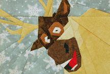 Paper piecing / Quilt