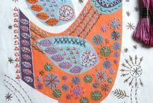 Nancy Nicholson / Mandy Pattullo - modern embroidery